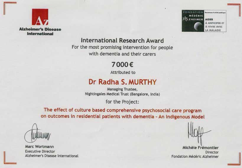 International Research Award